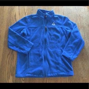 Gerry Kids XL Royal Blue Zip-Up Fleece